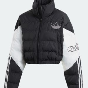 ''ISO'' adidas cropped puffer jacket